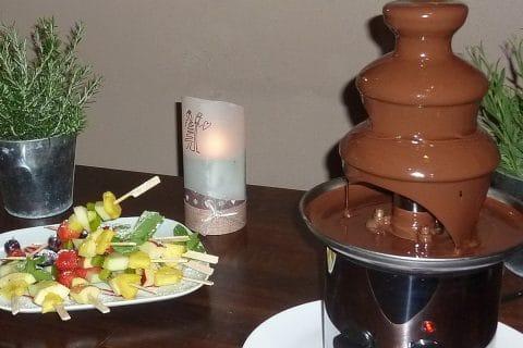 """""""Da kommt ja Schokolade aus dem Brunnen"""""""