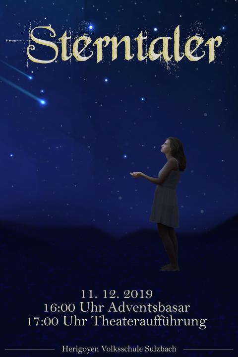 Einladung Sterntaler Aufführung